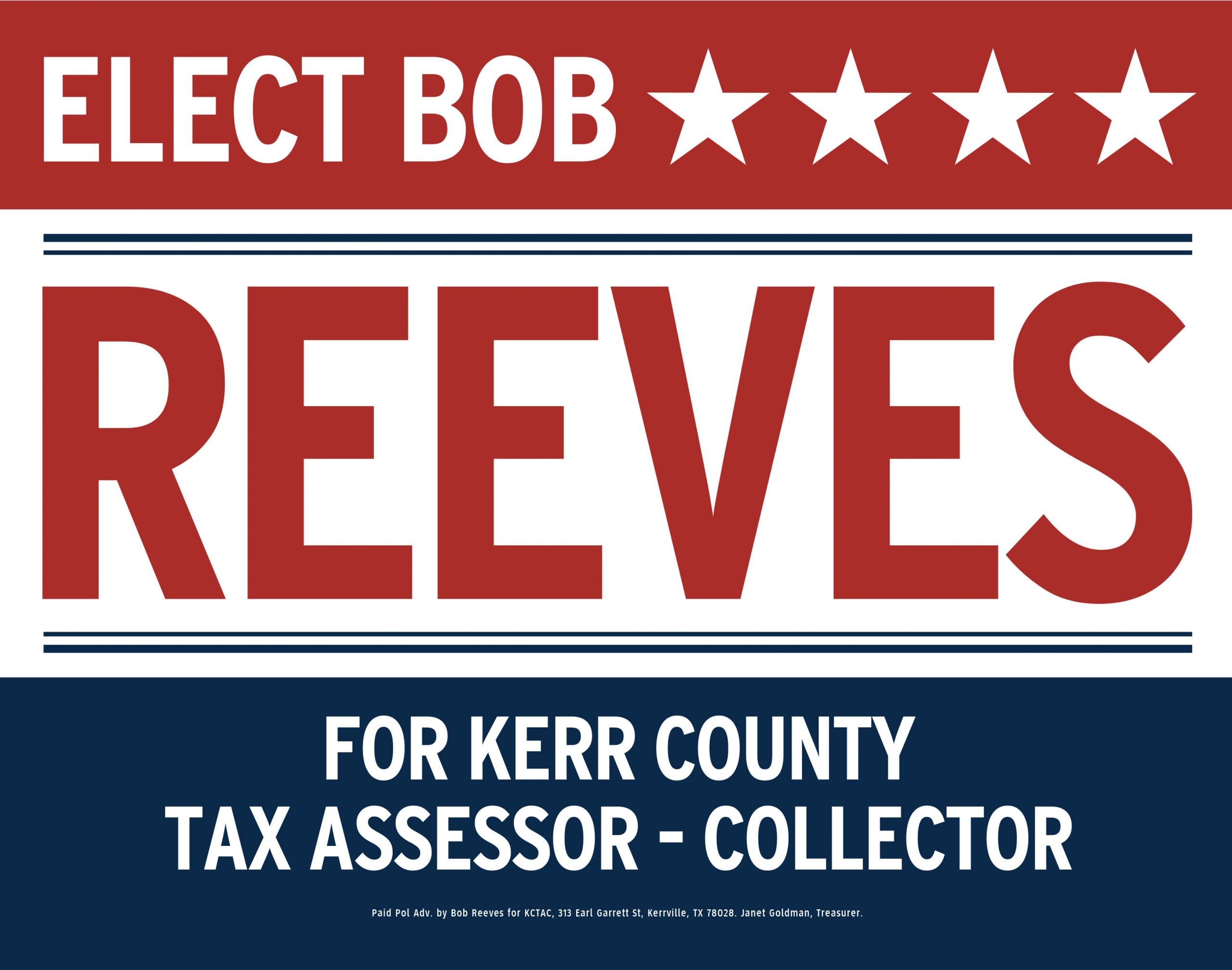 Elect Bob Reeves
